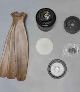 Quạt trần cao cấp Haiku nhập khẩu Mỹ L Series 52'' đèn LED màu trắng