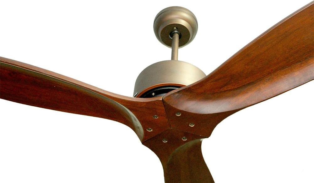 Quạt trần 3 cánh gỗ tự nhiên HGP/52-3092