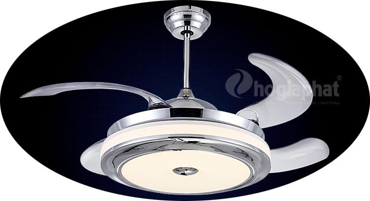 Quạt trần đèn wegarce 9016 chung cư