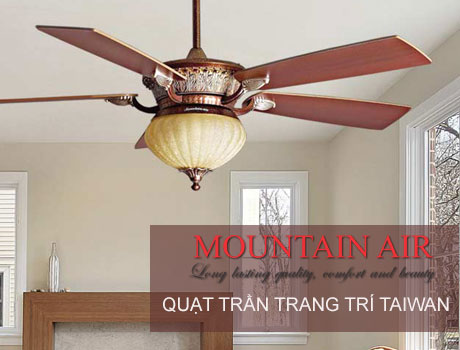 Quạt trần đèn Mountain Air
