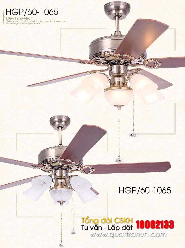 Quạt trần trang trí  Model  1065-A