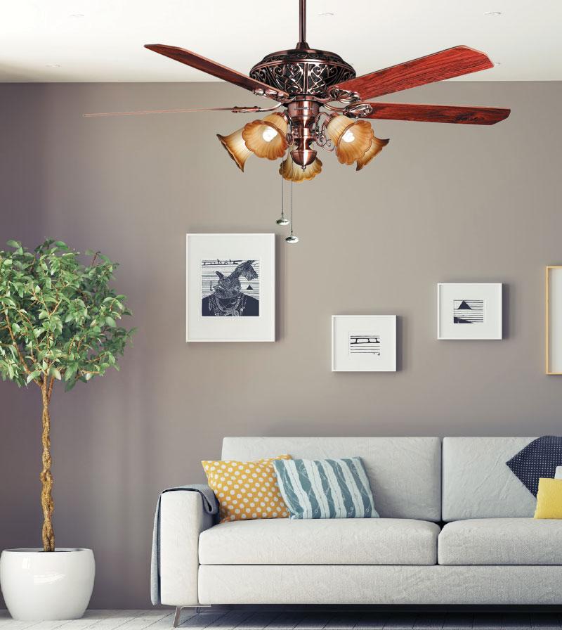 Quạt trần trang trí mountain air 1081