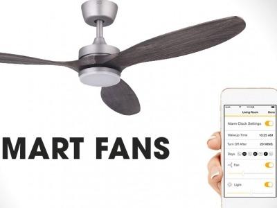 +20 mẫu quạt trần thiết kế theo xu hướng hiện đại, công nghệ Smart Fans