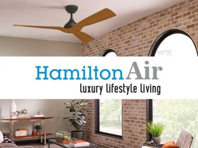 15 mẫu quạt trần đẹp Hamilton Air